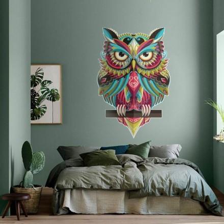 Κουκουβάγια πολύχρωμη