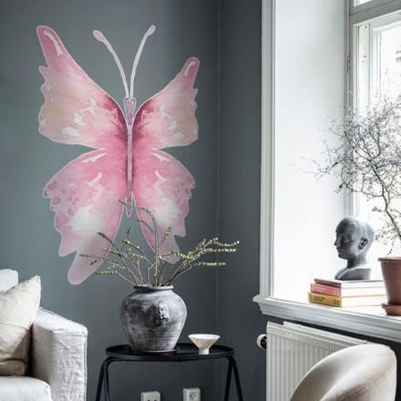 Ροζ πεταλούδα