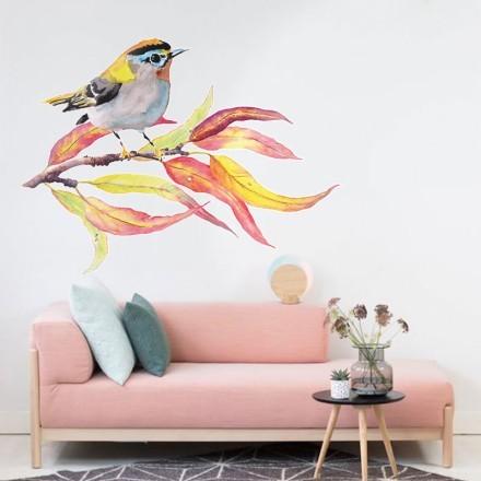 Πολύχρωμο πτηνό