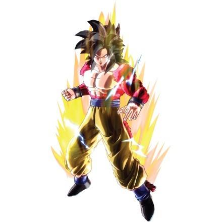 Xeno Goku on fire - Dragon Ball