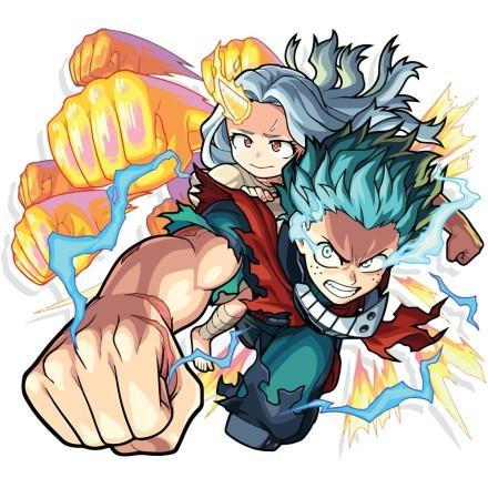 Midoriya & Eri - My Hero Academia