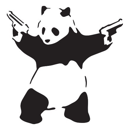 Panda gun
