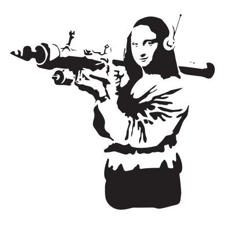 Mona Lisa rocket