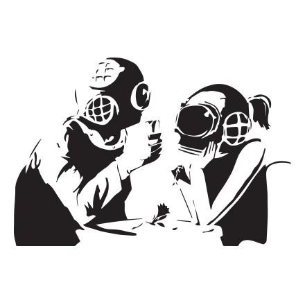 Diver couple