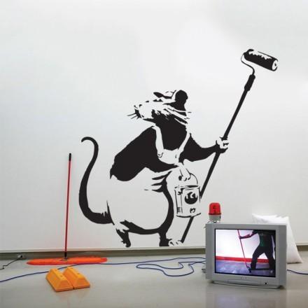 Rat painter