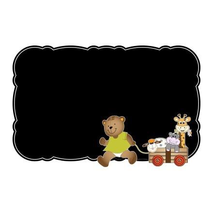 Αρκουδάκι με ζώα