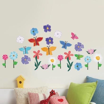 Λουλόυδια & πεταλούδες