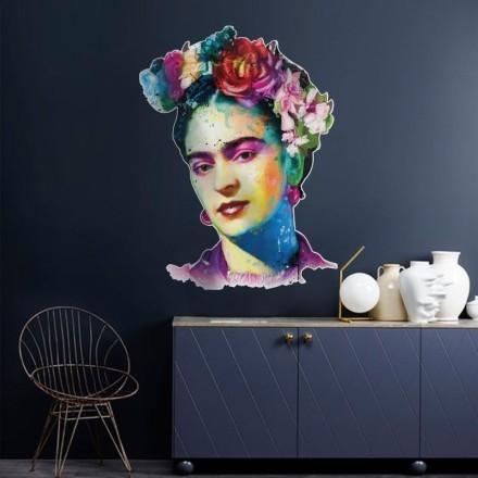 Φρίντα Κάλο με λουλούδια