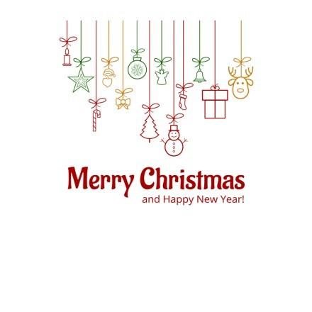 Merry Christmas - Ornaments