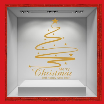 Merry Christmas - Gold