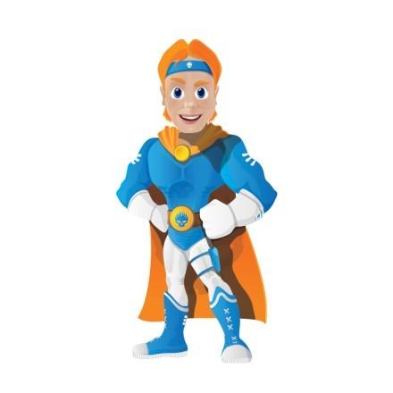 Μπλε σούπερ ήρωας