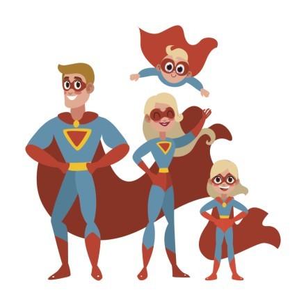 Οικογένεια σούπερ ηρώων