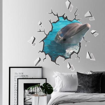 Χαριτωμένο δελφίνι