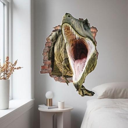 Δεινόσαυρος με ανοιχτό στόμα