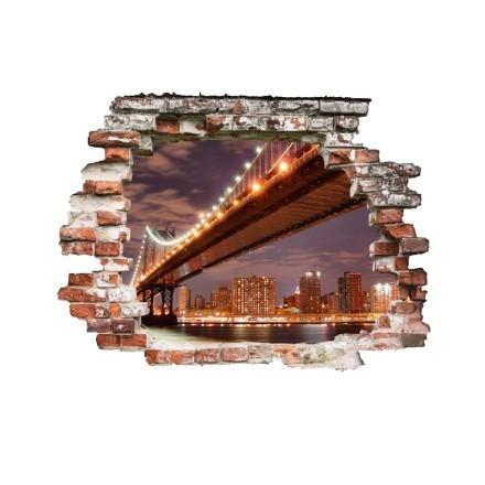 Γέφυρα φωτισμένη