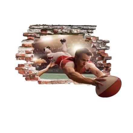 Υποδοχή μπάλας rugby