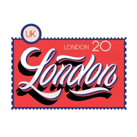 London γραμματόσημο