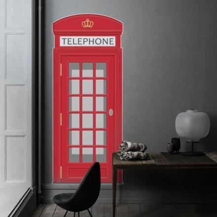Κόκκινος τηλεφωνικός θάλαμος