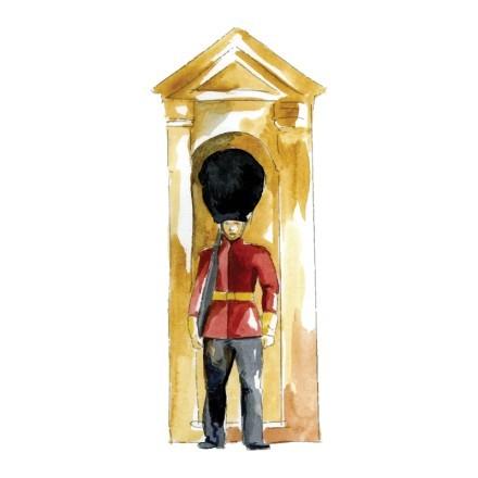 Φρουρός στο παλάτι
