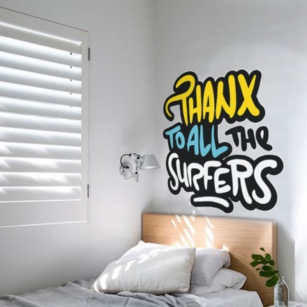 Thanx to all the surfers