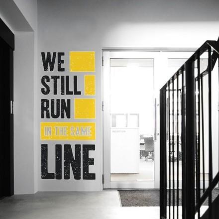 We still run