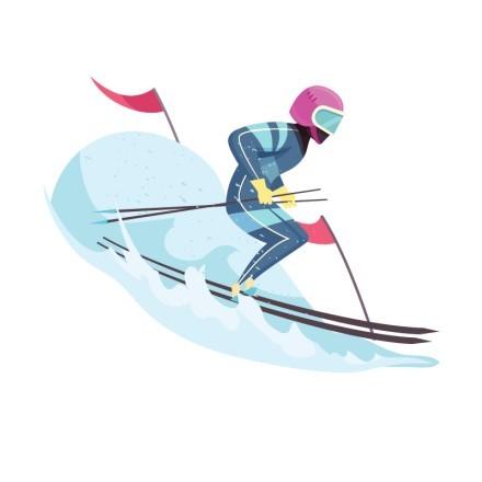 Σκι σε πίστα
