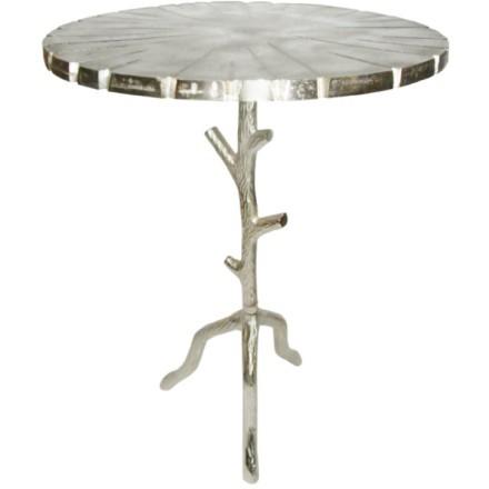BIZARRE SIDE TABLE ΑΣΗΜΙ D45xH64cm