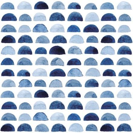 BLUE BOWS ΧΑΡΤΟΠΕΤΣΕΤΑ ΛΕΥΚΗ/ΜΠΛΕ 33x33cm