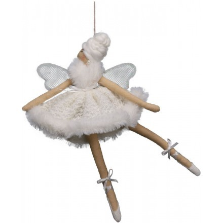 DREAM WHITE ANGEL 1 ΔΙΑΚΟΣΜΗΤΙΚΟ ΛΕΥΚΟ/ΜΠΕΖ 18xΥ29cm