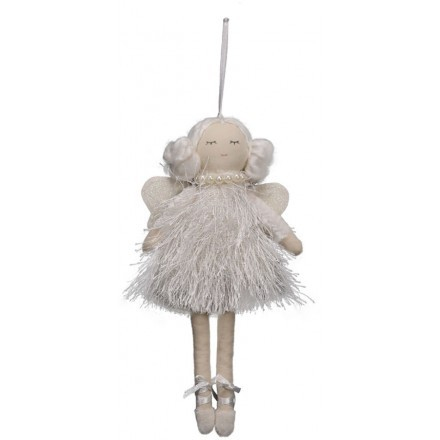 DREAM WHITE ANGEL 2 ΔΙΑΚΟΣΜΗΤΙΚΟ ΛΕΥΚΟ/ΜΠΕΖ 9xΥ20cm