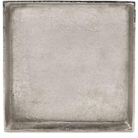 ETHEL 1 ΔΙΑΚΟΣΜΗΤΙΚΟ ΔΙΣΚΟΣ ΑΛΟΥΜΙΝΙΟ ΑΣΗΜΙ 21x21xΥ4cm