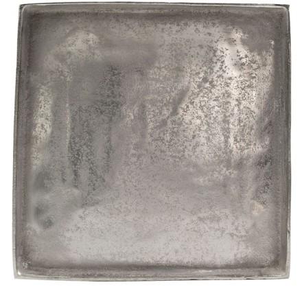 ETHEL 2 ΔΙΑΚΟΣΜΗΤΙΚΟ ΔΙΣΚΟΣ ΑΛΟΥΜΙΝΙΟ ΑΣΗΜΙ 30x30xΥ3cm
