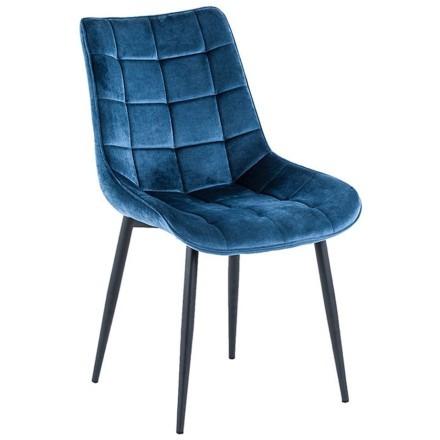 PALOMA ΚΑΡΕΚΛΑ MIDNIGHT BLUE 51x62xH86cm