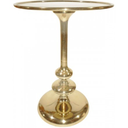 ROYAL SIDE TABLE ΧΡΥΣΟ D41xH56cm
