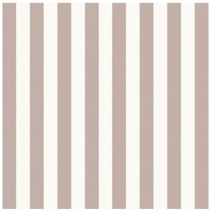 STRIPES ΧΑΡΤΟΠΕΤΣΕΤΑ TAUPE 33x33cm, ON THE TABLE, Maison
