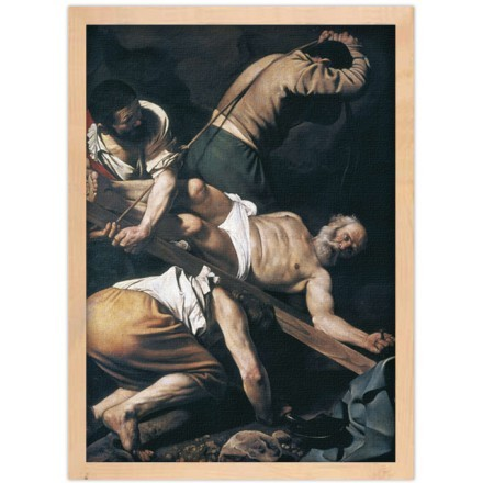 The Crucifixion of St Peter, 1600-1601