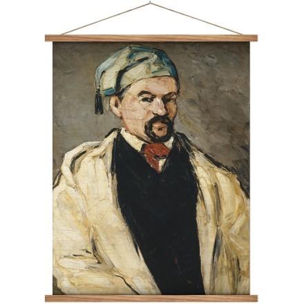 Portrait of a man in a blue cap, or uncle dominique