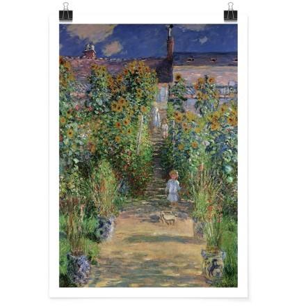 Ο κήπος του Μονέ στο Vétheuil, 1879