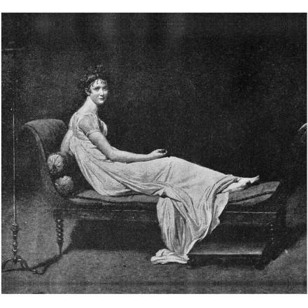 Portrait of Madame Recamier