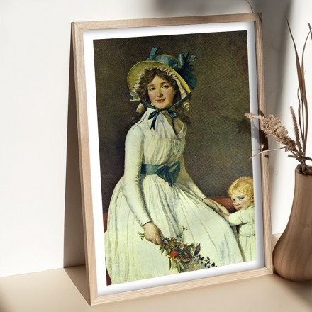 Portrait of Mrs. Serizy