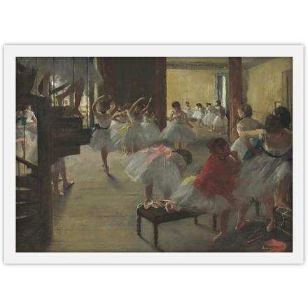 Nεαρές μπαλαρίνες στην Όπερα του Παρισιού