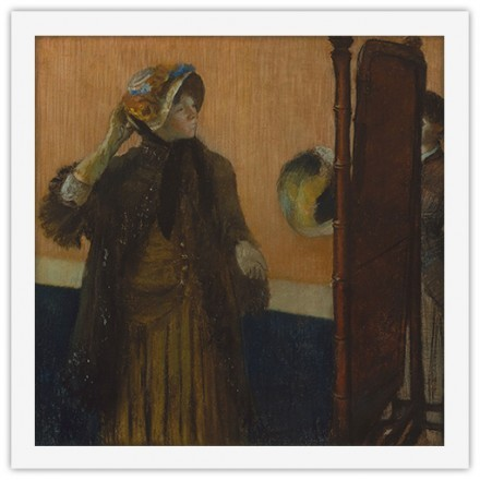 At the Milliners with artist Mary Cassatt