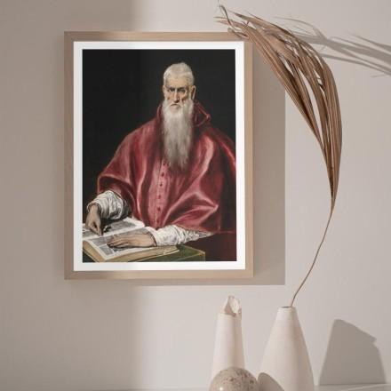 Saint Jerome as cardinal