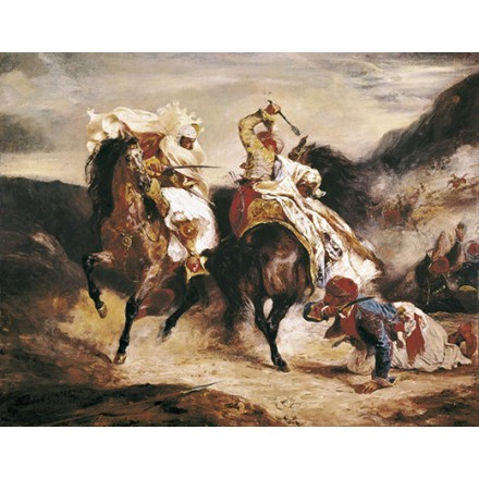 Combat of the Giaour and the Pasha