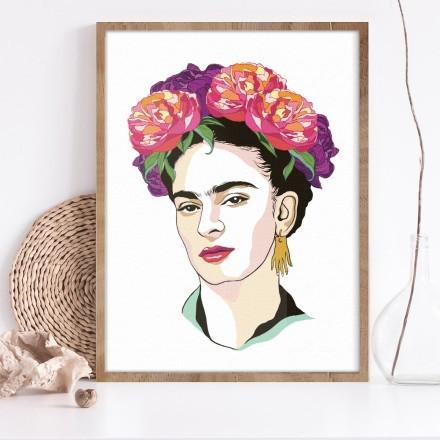 Magdalena Carmen Frida Kahlo self-portrait
