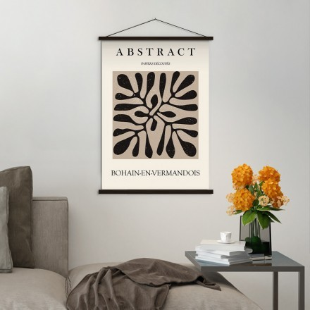 Abstract papiers decoupes