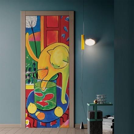 Matisse's cat and goldfish