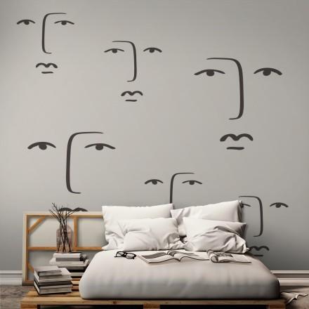 Face art line