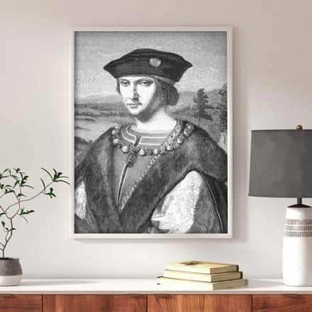 A portrait by Leonardo da Vinci