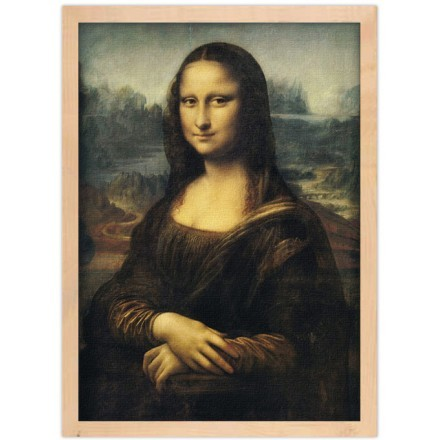 The Mona Lisa or La Gioconda